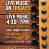 Live Music Friday Nights