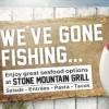 We've Gone Fishing!
