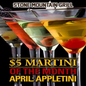 April 2017 Martini of the Month