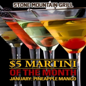 January 2016 Martini of the Month