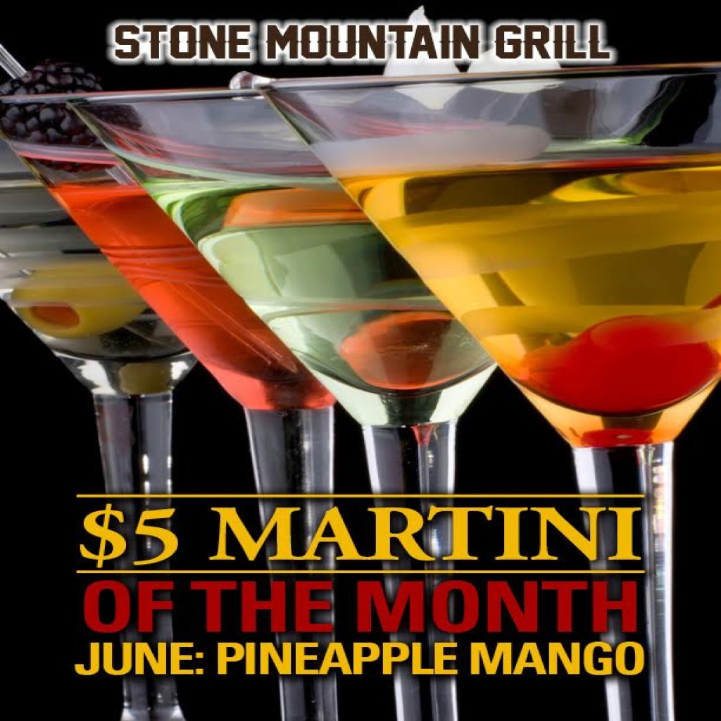 June 2017 Martini of the Month