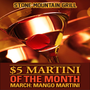 March 2015 Martini of the Month