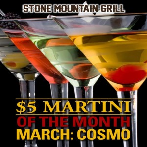 March 2017 Martini of the Month