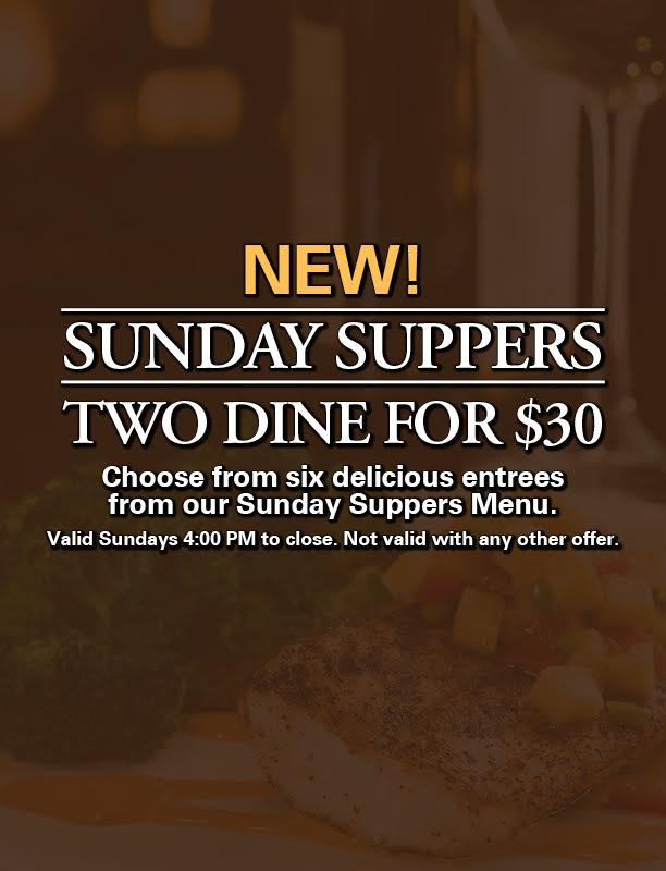 Sunday Suppers graphic