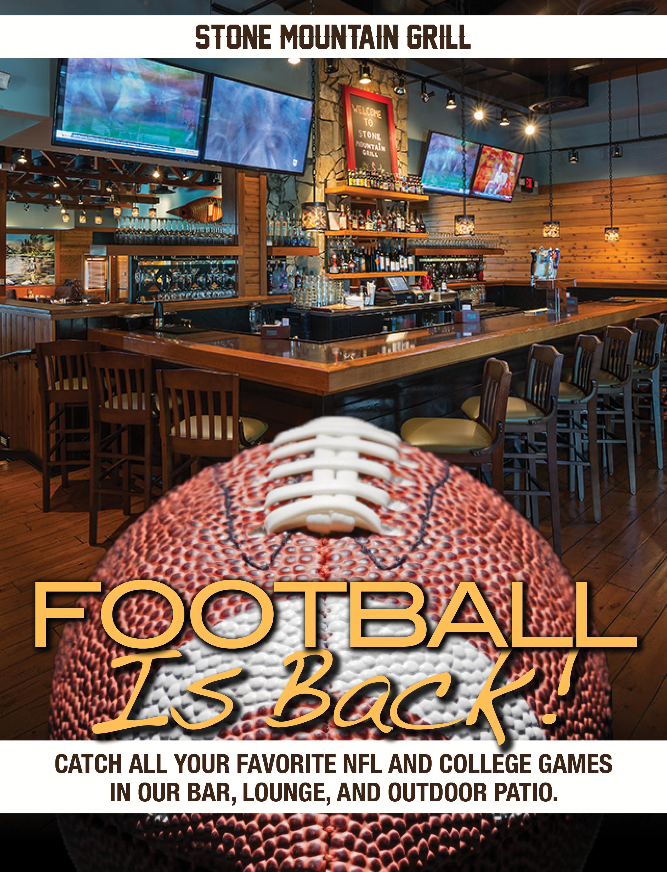 Stone Mountain football image